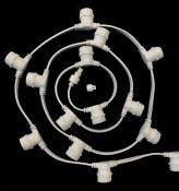Белт 2-х провод, 20 см, БЕЛЫЙ, 250 шт