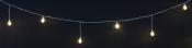 Ламполайт 10*0,2 м, белый провод